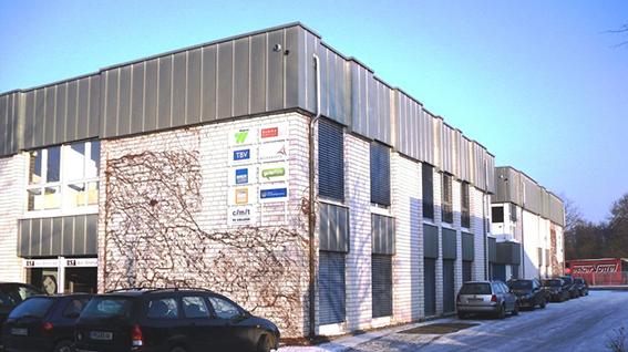 Unser Standort in Paderborn.